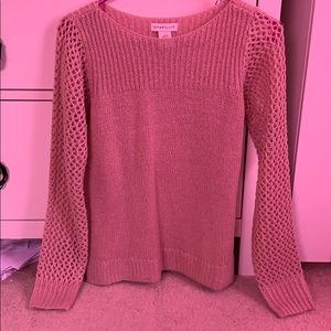 Sweaters - NWOT XS pink/mauve knitted sweater